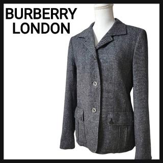 バーバリー(BURBERRY)のBURBERRY LONDON バーバリーロンドン ツイード ジャケット XL (テーラードジャケット)