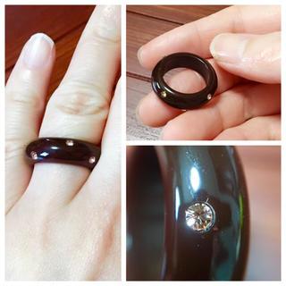 軽い♪キュービックジルコニア リング(リング(指輪))