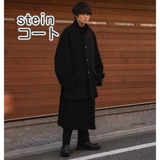 SUNSEA - stein OVER SLEEVE STAND COLLAR COAT コート