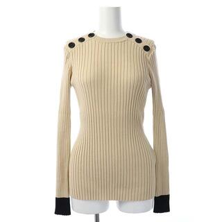ダブルスタンダードクロージング(DOUBLE STANDARD CLOTHING)のダブルスタンダードクロージング ダブスタ バイカラー リブ ニット 長袖(ニット/セーター)