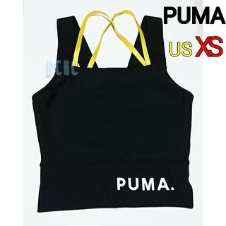 プーマ(PUMA)の【XS】【ブラック】プーマ トレーニングウェア クロップトップ レディース(その他)