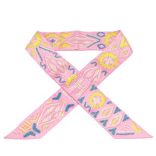 エルメス(Hermes)のエルメス  スカーフ  ツイリー   ピンク(スカーフ)