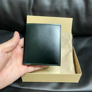 GANZO - ガンゾ コードバン BOX小銭入れ付きコンパクト札入れ