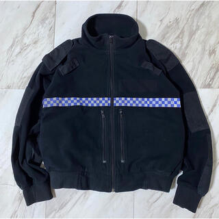 Maison Martin Margiela - 希少サイズ 短丈 m/s イギリス警察 ポリス リフレクター フリースジャケット