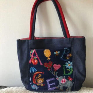FEILER - 【フェイラー☆人気BAG】FEILER アルファベットアニマル柄 トートバッグ