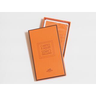 エルメス(Hermes)のHERMES スカーフ CARTES A NOUER CardBox(ノベルティグッズ)
