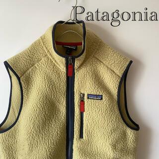 patagonia - 【人気商品】PatagoniaパタゴニアレトロXベストmMベージュフリースメンズ
