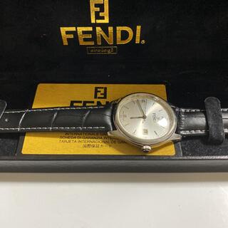 FENDI - FENDI フェンディ メンズ腕時計 クォーツ 箱 国際保証カード付 美品