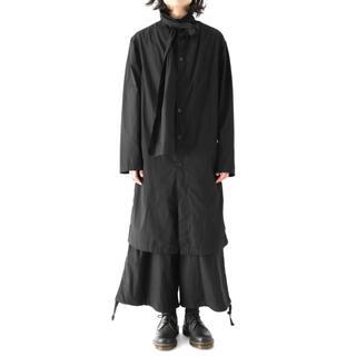 Yohji Yamamoto - 18ss Yohji Yamamoto Pour homme ストールコート