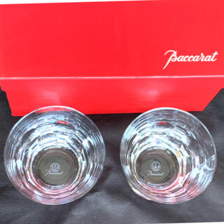 Baccarat - バカラ ペア グラス ベルーガ フランス製 美品 クリスタル ブランド