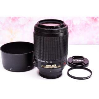 Nikon - ニコン望遠レンズ★AF-S DX 55-200mm 手振れ補正つき!