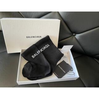 バレンシアガ(Balenciaga)の◼️BALENCIAGA logo socks blk(ソックス)