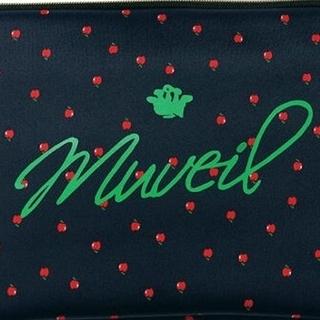ミュベールワーク(MUVEIL WORK)のミュベール 付録 BAILA りんご柄ボンディングケース ポーチ(ポーチ)