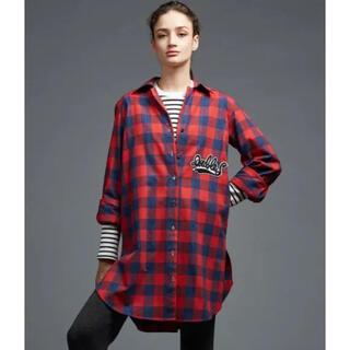 ダブルスタンダードクロージング(DOUBLE STANDARD CLOTHING)の大人気❣️BIGワッペン DOUBLESTANDARDCLOTHING チェック(シャツ/ブラウス(長袖/七分))
