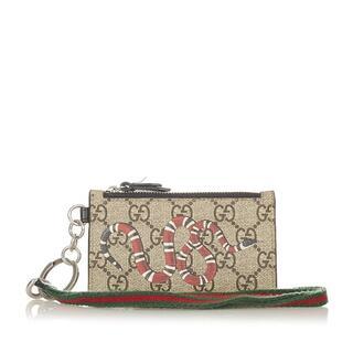 グッチ(Gucci)のグッチ カードケース レディース 美品(パスケース/IDカードホルダー)