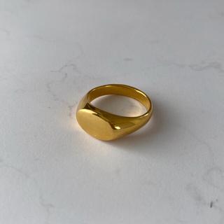 ドゥーズィエムクラス(DEUXIEME CLASSE)のDeuxièmeClasse 18kgp_Round cushion ring(リング(指輪))