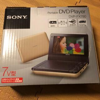 SONY - 〜再値下げ〜SONY  ポータブルDVDプレーヤー DVP-FX780(N)