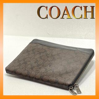 COACH - COACH コーチ タブレットビジネスバッグ  クラッチバッグ F64562