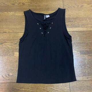 エイチアンドエム(H&M)の新品 H&M トップス(Tシャツ(半袖/袖なし))