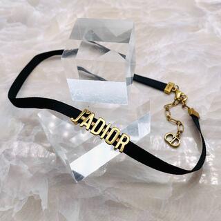 Dior - ★DIOR★ ディオール J'ADIOR ロゴ チョーカー