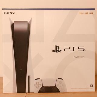 プレイステーション(PlayStation)の【新品・未開封】プレイステーション5  PS5  ディスクドライブ搭載モデル(家庭用ゲーム機本体)