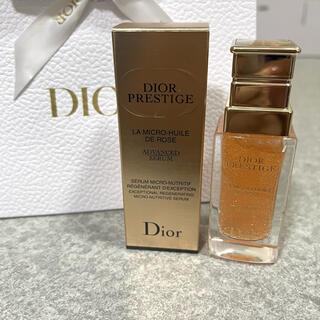 Dior - DIOR プレステージ マイクロ ユイル ド ローズ セラム 30ml