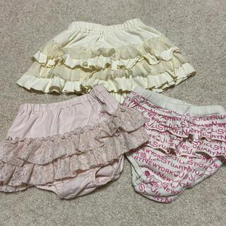 ジルスチュアート(JILLSTUART)のJILLSTUART ショートパンツ ブルマ スカート 3点セット(パンツ)