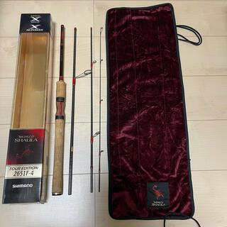 SHIMANO - ワールドシャウラ ツアーエディション 2651-F4 パックロッド