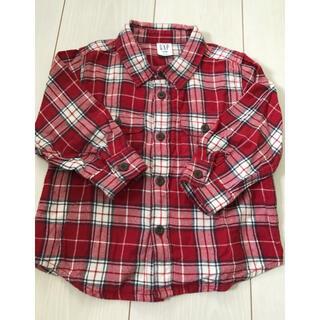 ベビーギャップ(babyGAP)のbaby Gap ネルシャツ 90cm(ブラウス)