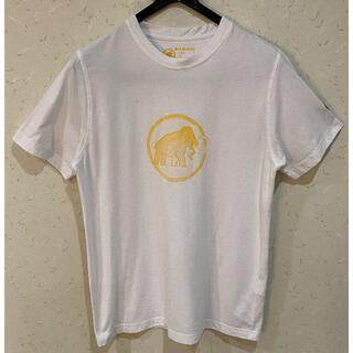 Mammut - *マムート MAMMUT ロゴ プリント 刺繍入り 半袖Tシャツ S