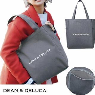DEAN & DELUCA - 未使用 DEAN & DELUCA  グレー トートバッグ