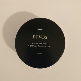 ETVOS - 送料無料!新品!エトヴォスのマットスムースファンデーション40番