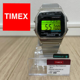TIMEX - 【新品】TIMEX タイメックス デジタルウォッチ シルバー T78587