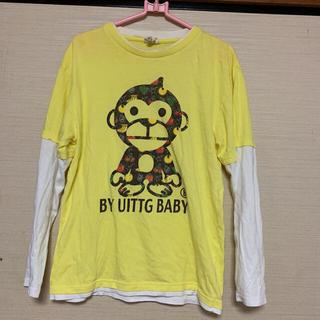 アベイシングエイプ(A BATHING APE)の長袖Tシャツ アベイシングエイプ(Tシャツ/カットソー(七分/長袖))