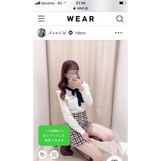 titty&co - ティティアンドコー チェック柄キュロット