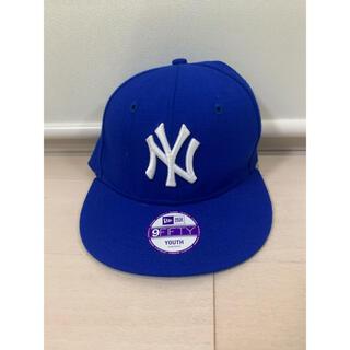 ニューエラー(NEW ERA)のNEW ERAの青い帽子(帽子)