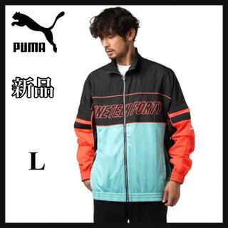 プーマ(PUMA)の《新品》PUMAプーマ  LUXTGウーブンジャケット 596035(ナイロンジャケット)