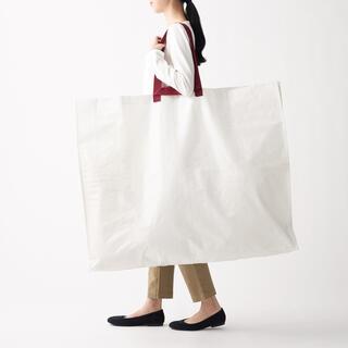 ムジルシリョウヒン(MUJI (無印良品))の新品 無印良品 再生ポリプロピレンバッグ 大サイズ(エコバッグ)