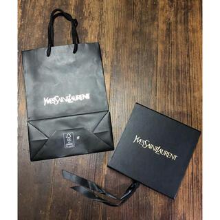 イヴサンローランボーテ(Yves Saint Laurent Beaute)のイブ・サンローラン ルージュ ヴォリュプテ シャイン ギフトボックス ショップ袋(ショップ袋)