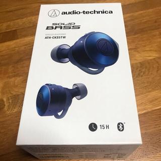 audio-technica - audio−technica ATH-CKS5TW BL ワイヤレスイヤホン