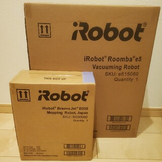 iRobot - ルンバ e5 ブラーバジェット 250 セット ロボット掃除機