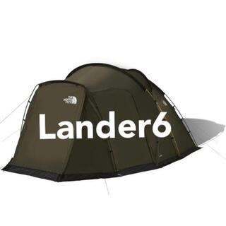 ザノースフェイス(THE NORTH FACE)の新品 未使用 ノースフェイス Lander6 ランダー6 NV22100(テント/タープ)