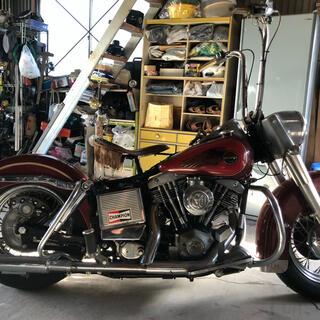 Harley Davidson - 1976 ショベルヘッド ハーレー FLH 鹿児島