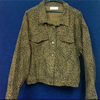 サンローラン(Saint Laurent)のVintage Leopard patterned Jacket (ブルゾン)