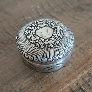 ティファニー(Tiffany & Co.)のビンテージ ティファニー シルバー ピルケース makers(小物入れ)