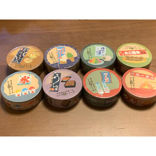 レトロのれんマスキングテープ 8巻 ラムネ他(テープ/マスキングテープ)