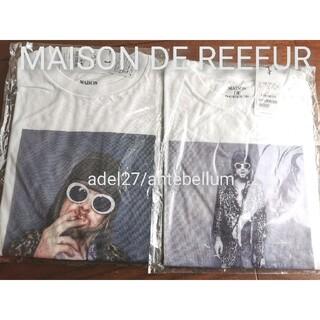 メゾンドリーファー(Maison de Reefur)の【新品2枚セット】MAISON DE REEFURカートコバーンTシャツコラボT(Tシャツ(半袖/袖なし))