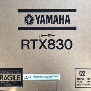 ヤマハ - RTX830 YAMAHA ヤマハ 新品未使用 3台