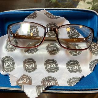 Zoff - Zoff 花粉、飛沫対策メガネDisney柄 UV、ブルーライトカット 曇り止め