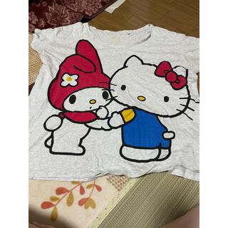 サンリオ(サンリオ)のTシャツ サンリオ(Tシャツ(半袖/袖なし))